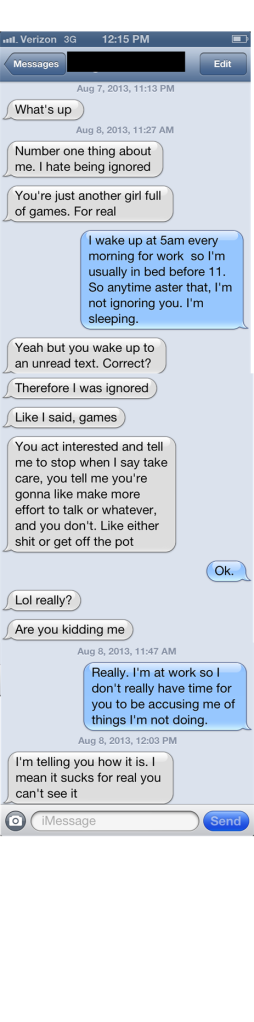 Texting 101 - LOGAN 1